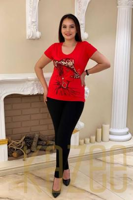 Wholesale Crystal Stone Figured Combed Cotton Women